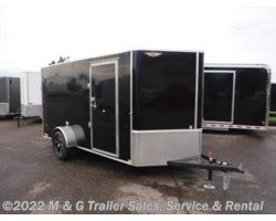 "#506086 - 2018 H&H  6x12 Enclosed 6'6"" Interior Cargo - Black"