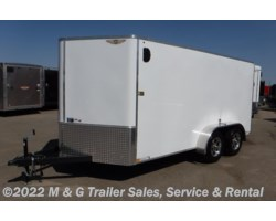 #506241 - 2018 H&H  7x14 Enclosed Cargo - White