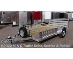 #500823 - 2018 H&H  8.5x12 Aluminum Rail Side ATV/Utility Trailer