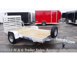 #180808 - 2019 Aluma 6810ESW Wood Deck Utility Trailer