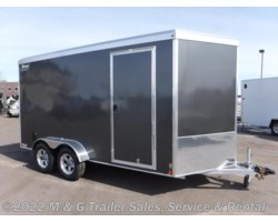 #V77199 - 2019 Triton Trailers Vault VC 7x14 Enclosed 7' Int. Cargo GREY