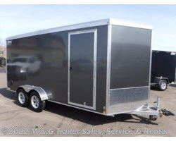 #V78241 - 2019 Triton Trailers Vault VC 7x16 Enclosed 7' Int. Cargo GREY
