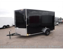 "#504874 - 2018 H&H  6x12 Enclosed 6'6"" Interior Cargo - Black"