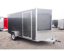 "#v76147 - 2019 Triton Trailers Vault VC 6X12 Enclosed 6'6"" Int. Cargo - Gray"