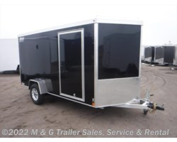 #v76148 - 2019 Triton Trailers Vault VC 6X12 Enclosed Cargo - Black