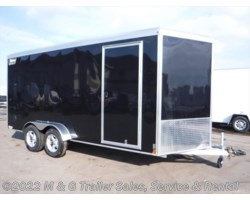 #v78243 - 2019 Triton Trailers Vault VC 7x16 Enclosed 7' Int. Cargo - Black