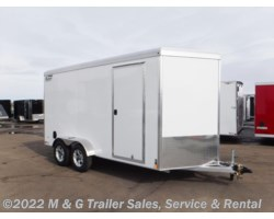 #v77200 - 2019 Triton Trailers Vault VC 7x14 Enclosed 7' Int. Cargo White