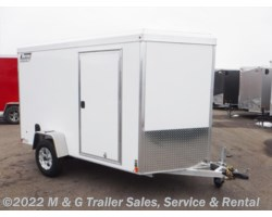 #v79056 - 2019 Triton Trailers Vault VC 6X10 Enclosed Cargo - White