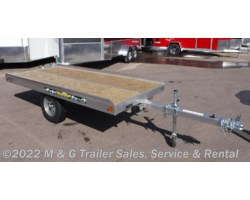 #180441 - 2019 Aluma 8605 Tilt Bed Snowmobile Trailer