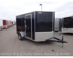 #505432 - 2018 H&H  7x12 Enclosed 7' Int Cargo - Black