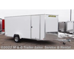 #183345 - 2019 Aluma 6x14 Enclosed Cargo - White