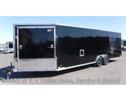 #644363 - 2018 RC Trailers RSCT Series 8.5X30 Enclosed 7' Int. 10k Aluminum Combo Hauler