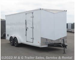 #641995 - 2018 RC Trailers 7x20TA Enclosed 7' Int Cargo - White