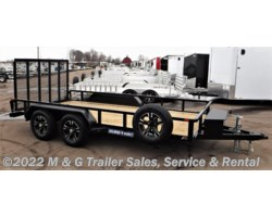#225131 - 2018 Sure-Trac 7X14 Tube Top Utility Trailer - Black