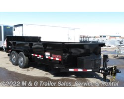 #001845 - 2018 Midsota Midsota 16' Dump Trailer - Black - Ramp Gate