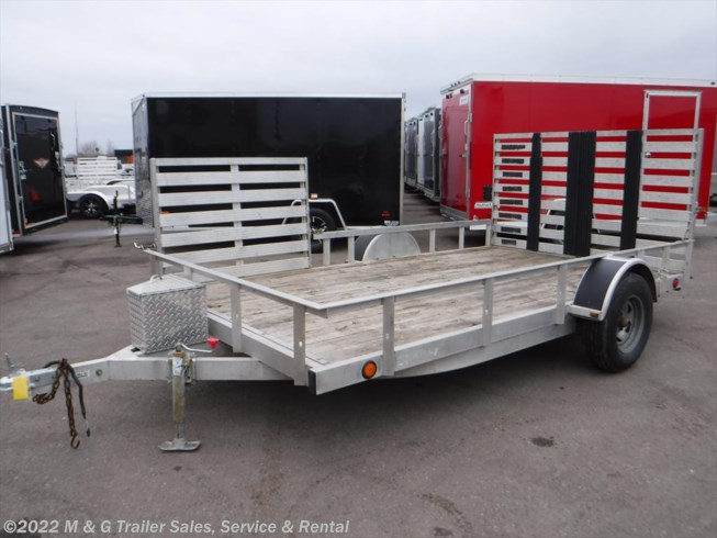 2005 Trophy 7'x12' Aluminum Rail Side With Side Ramp!