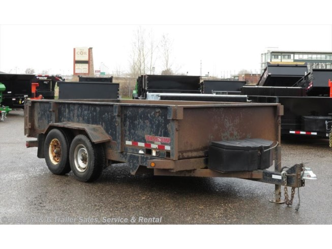 2004 Midsota 16' Heavy Duty Dump