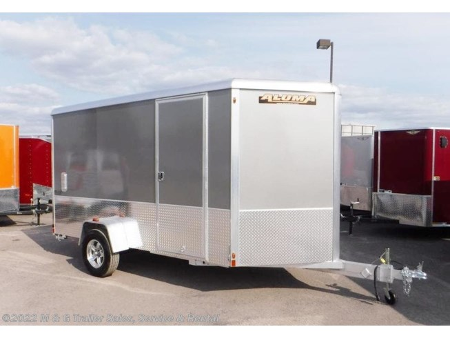 2019 Aluma 6x12 Enclosed with Sport Package - Pewter