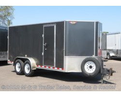 #2341CTG - 2017 H&H  7'x16' Enclosed Cargo Trailer - 14K GVWR!