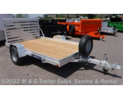 #186044 - 2019 Aluma 7810ESW Wood Deck Utility Trailer