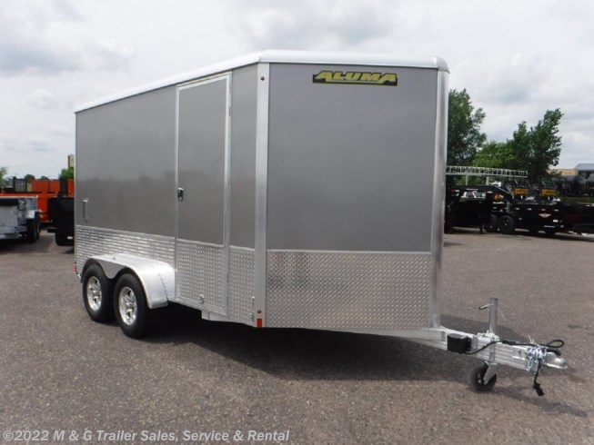 2018 Aluma 7x12TA Enclosed 7' Int Cargo - Pewter