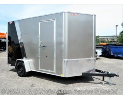 #510669 - 2018 H&H  7x12 Enclosed 7' Int Cargo - Pewter/Black