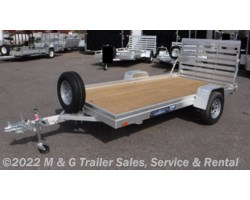 #186607 - 2019 Aluma 6812ESW Wood Deck Utility Trailer
