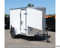 #648097 - 2018 RC Trailers 5x8SA Enclosed Cargo - White
