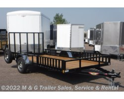 #504646 - 2018 H&H  8.5x14 Rail Side ATV/Utility Trailer - Black
