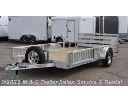 #510509 - 2019 H&H  8.5x14 Aluminum Rail Side ATV/Utility Trailer
