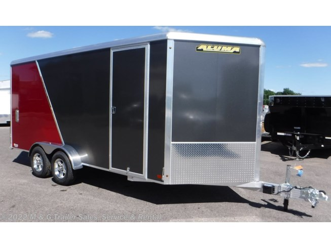 2019 Aluma 7x16TA Enclosed 7' Int Cargo - Sport Pkg - Charcoa