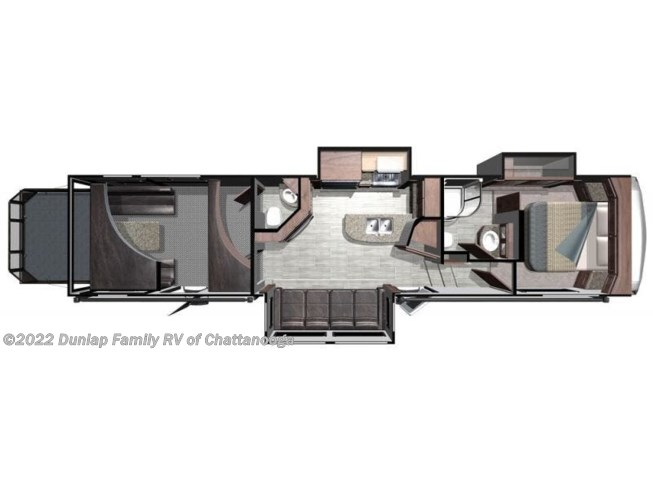 2019 Highland Ridge Highlander HF350H - New Fifth Wheel For Sale by Dunlap Family RV in Ringgold, Georgia