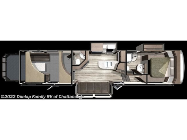 2019 Highlander HF350H by Highland Ridge from Dunlap Family RV in Ringgold, Georgia