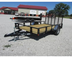 #RT16916 - 2017 Rice Trailers 76x12 Utility Trailer
