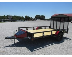 #RT16919 - 2017 Rice Trailers 82x12  PIPE TOP UTILITY TRAILER