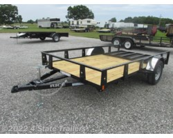 #RT17097 - 2017 Rice Trailers 76x12 Utility Trailer