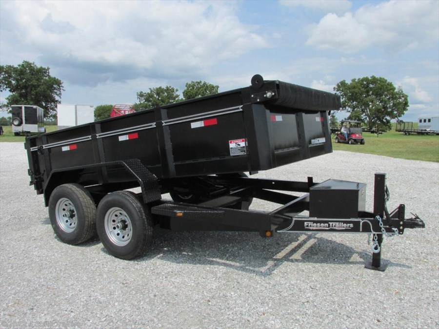 2017 Friesen 83X12  DUMP TRAILER