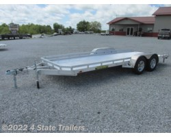 #AL72953 - 2018 Aluma 78x18 Utility Trailer Slide out ramps