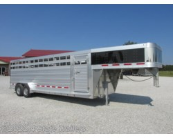 #FL47389 - 2017 Featherlite 7x24 8127 Stock Trailer