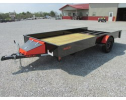 #RT18378 - 2018 Rice Trailers Stealth 82x14 UTILITY TRAILER