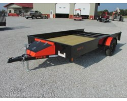 #RT18377 - 2018 Rice Trailers Stealth 82x12 Utility Trailer
