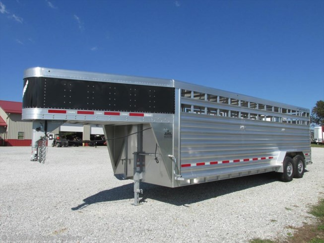 <span style='text-decoration:line-through;'>2018 Featherlite 7x24 8127 Stock Trailer V-Nose!</span>