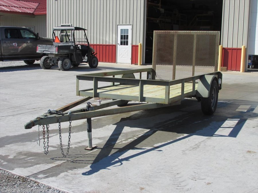 2008 Miscellaneous 5x10 Utility Trailer