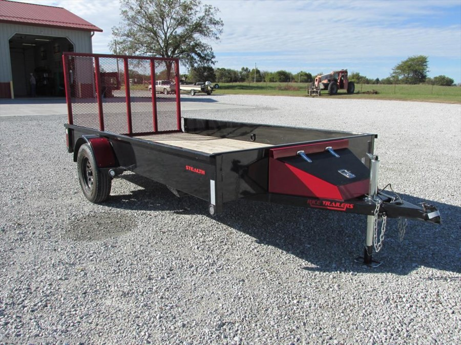 2015 Rice Trailers Stealth 76x12 Utility Trailer