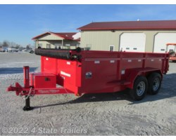 "#FT14739 - 2017 Friesen 83""X14' DUMP TRAILER HYDRAULIC JACK!"