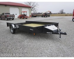 #RT19899 - 2018 Rice Trailers Stealth 82x14 UTILITY TRAILER