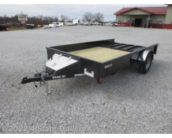 #RT20066 - 2018 Rice Trailers Stealth 76x12 Utility Trailer
