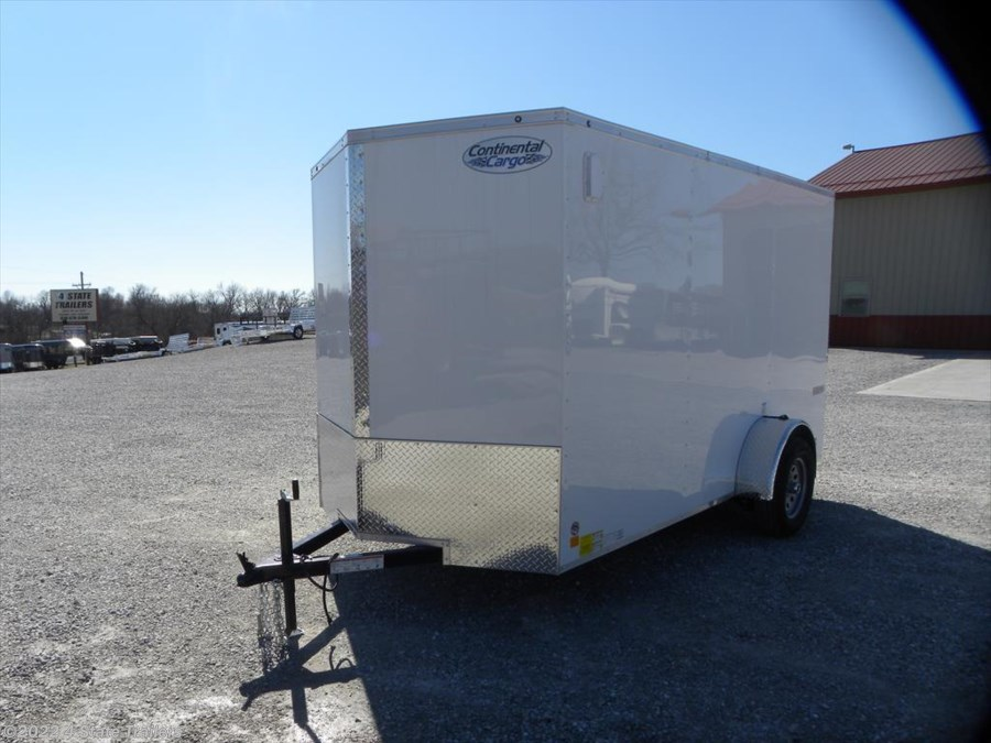 "2018 Continental Cargo Value Hauler 6'x12'x6'6"" Cargo Trailer Ramp Door"