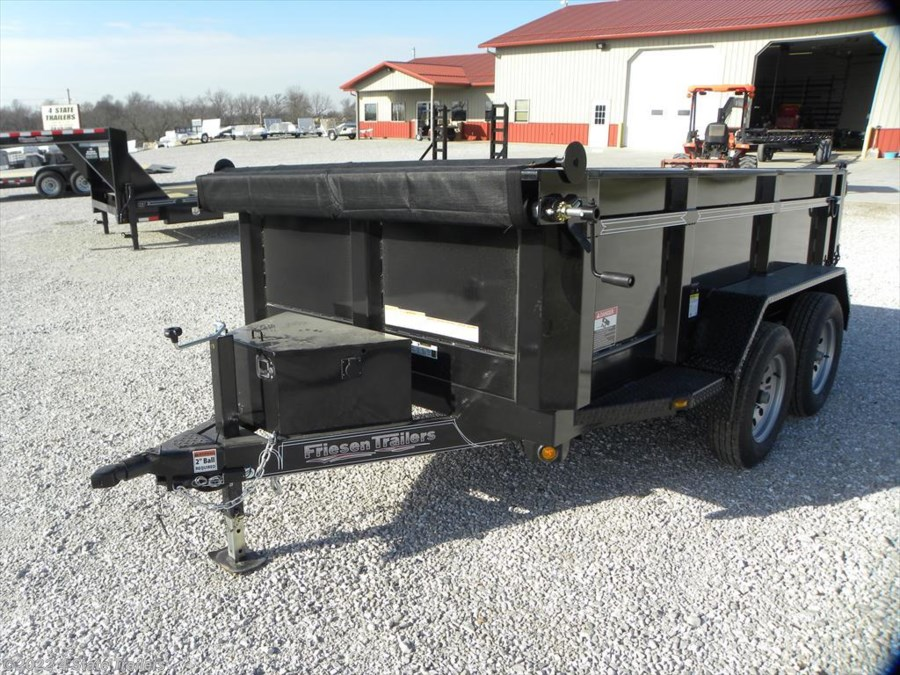 2018 Friesen 6x10 Dump Trailer