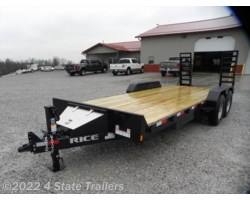 #RT20486 - 2018 Rice Trailers Magnum 82X20 EQUIPMENT TRAILER